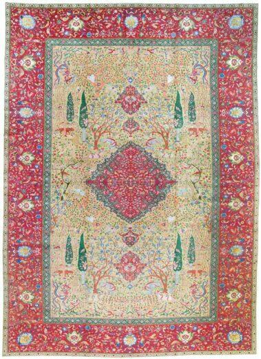 Ankauf antike Teppich Täbriz